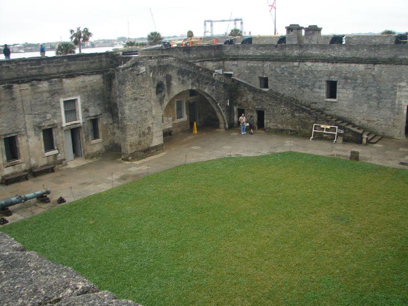 Day 134 - Castillo de San Marcos, Steps to Gun Deck