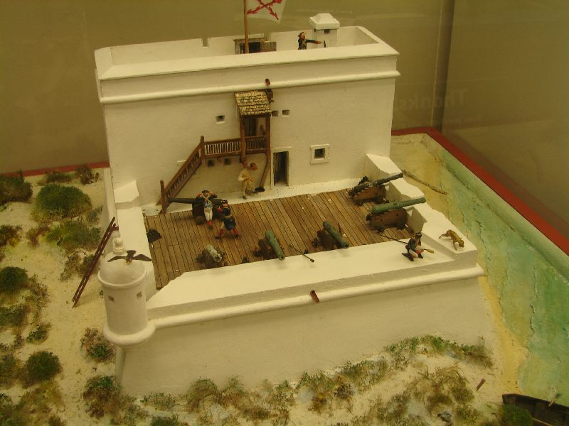 Day 135 - Fort Matanzas, Model