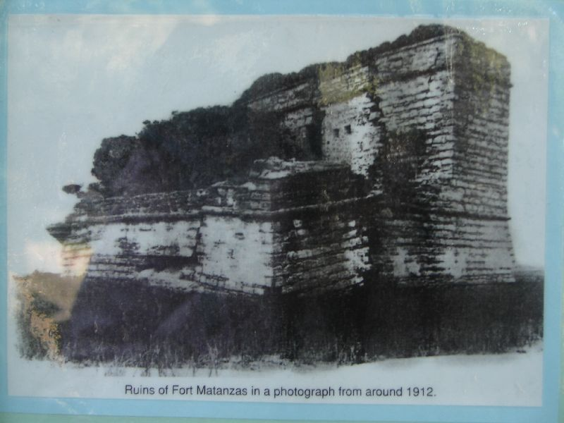 Day 135 - Fort Matanzas, Photo of Ruins
