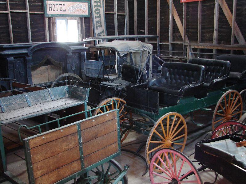 Day 156 - Alamo Village, Wagon Collection