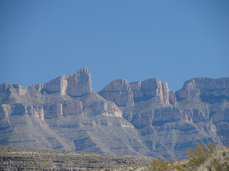 Day 159 - Big Bend, Cliffs