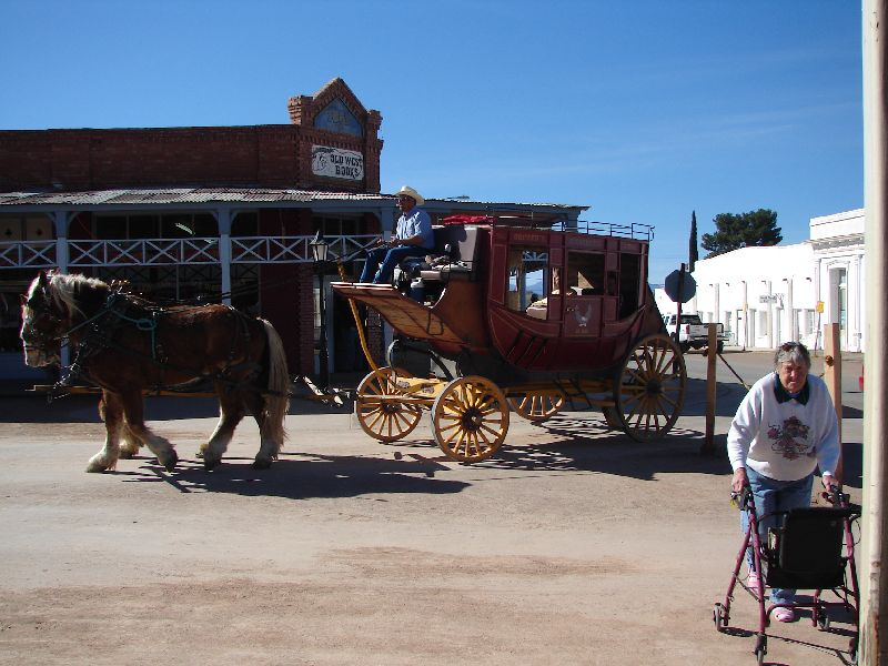 Day 165 - Tombstone, Stagecoach