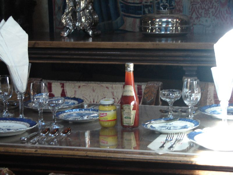 Day 180 - Hearst Castle, DR Place Setting