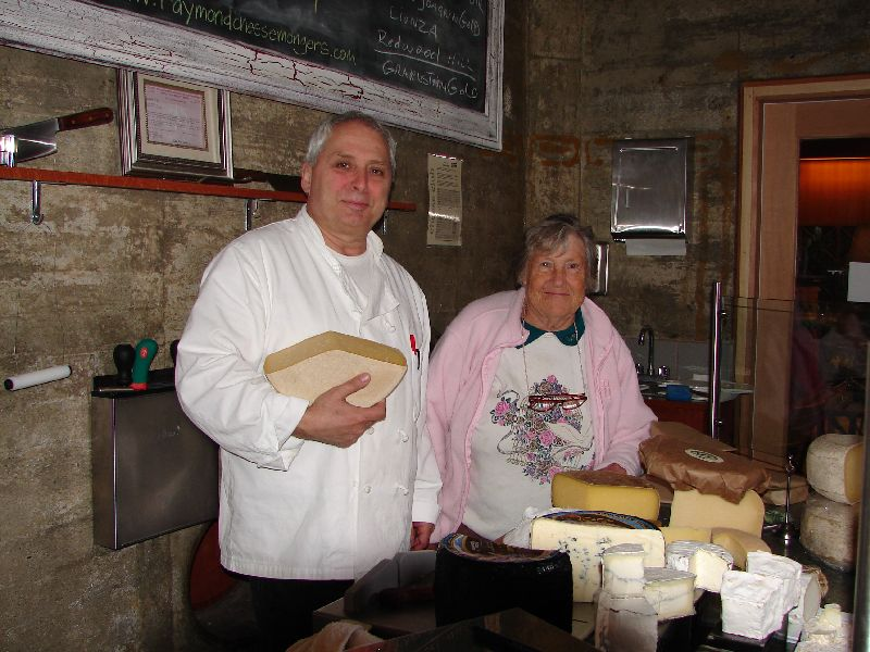 Day 195 - Jack London Village, John & Mom at Cheese Shop