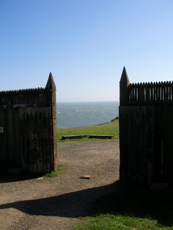 Day 197 - Fort Ross, Front Gate to Sea
