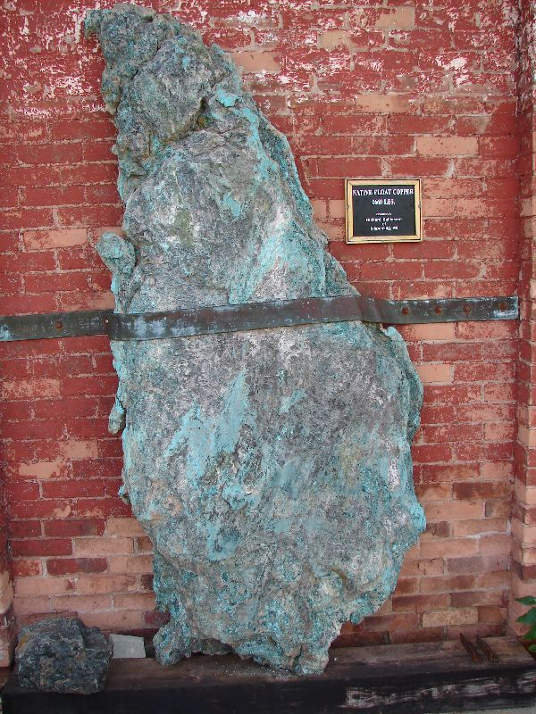 Day 19 - Cliffs Shaft Mine, Float Copper