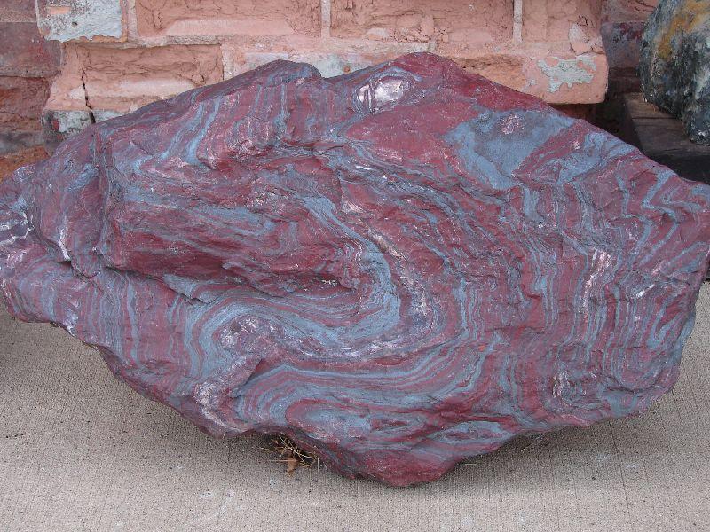 Day 19 - Cliffs Shaft Mine, Layered Jasper