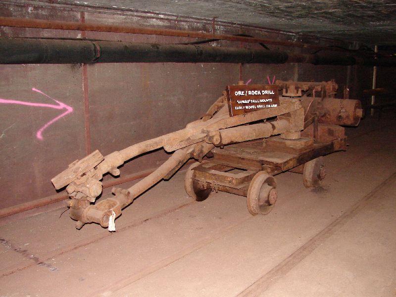 Day 19 - Cliffs Shaft Mine, Jumbo Drill