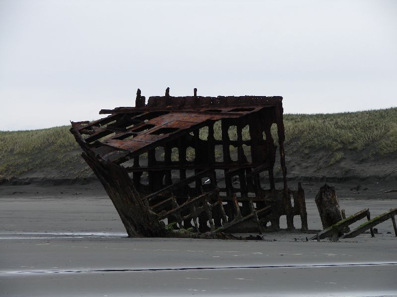 Day 207 - Fort Stevens, Old Shipwreck Closeup