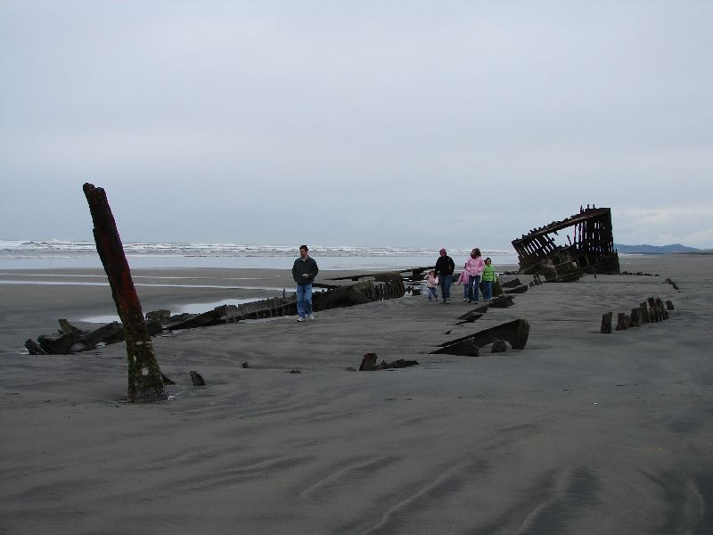 Day 207 - Fort Stevens, Old Shipwreck