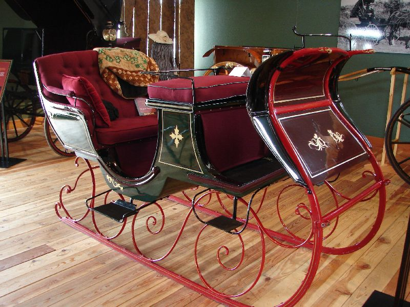 Day 208 - Carriage Museum, Coachmans Sleigh