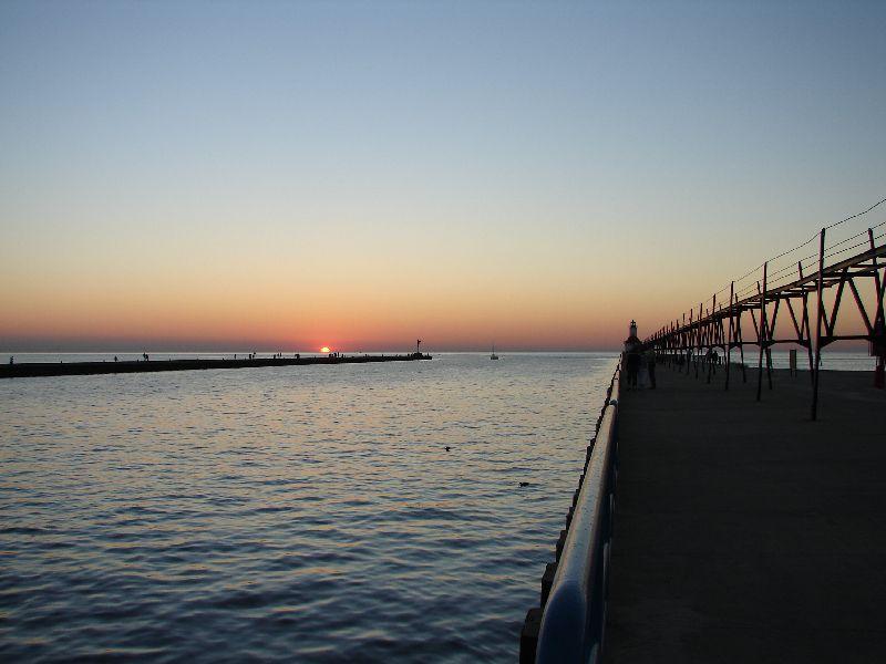 Day 22 - Lake Michigan Sunset