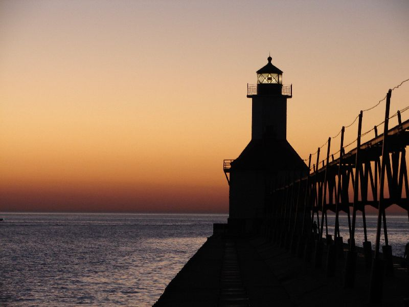 Day 22 - Lake Michigan Lighthouse