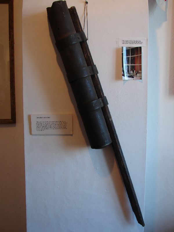 Day 59 - Old Lighthouse Museum, 1814 Congreve Rocket