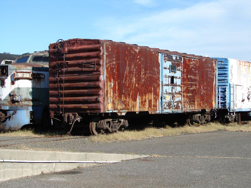 Day 62 - Danbury Railway Museum, Freight Care Before Work