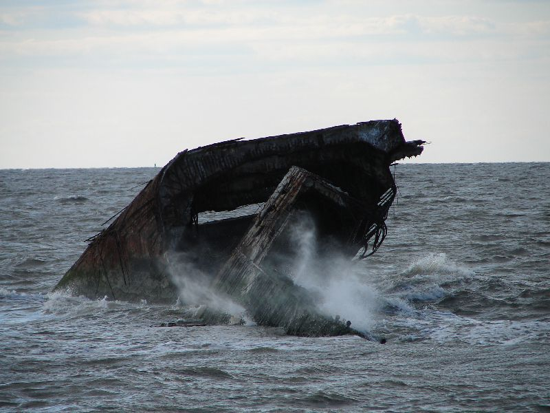 Day 67 - Cape May Shipwreck