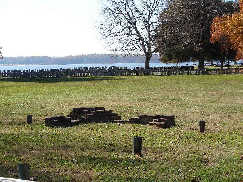Day 89 - Jamestown, Early House Foundation