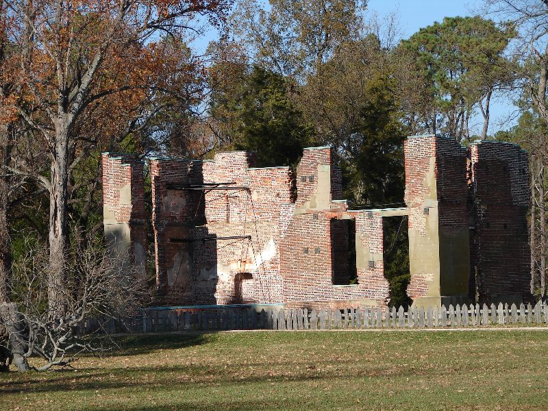 Day 89 - Jamestown, Ambler House Ruins