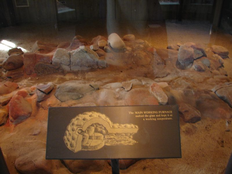 Day 91 - Jamestown, Ruins of Glass Furnace