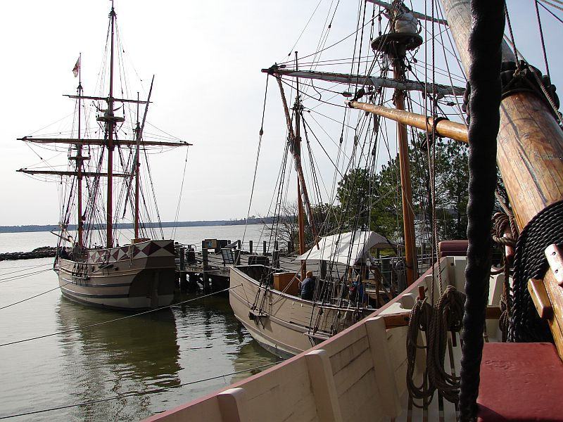 Day 91 - Jamestown Stlmt, Three_Ships