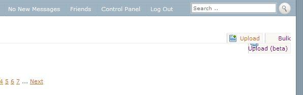 TP - Bug on Bulk Upload Screen