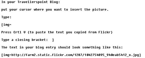 TP - Inserting Photo's from Flickr