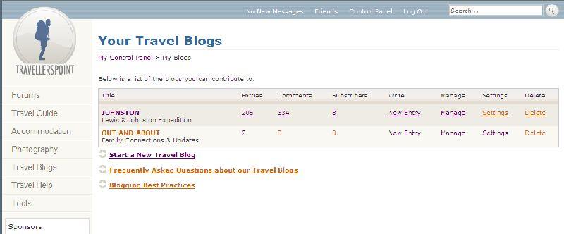 TP - Manage Blogs