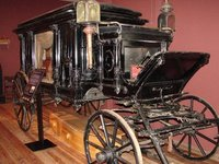 Day 208 - Carriage Museum, Carved Panel Hearse
