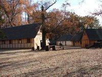 Day 91 - Jamestown Stlmt, Fort Bldgs