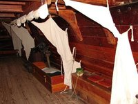 Day 91 - Jamestown Stlmt, Susan Constant Cabin Bed