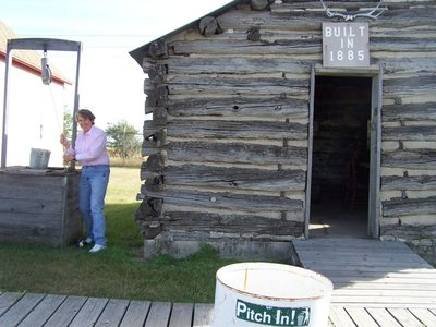 Day 14 - Rugby SD Museum, Cabin w. Well