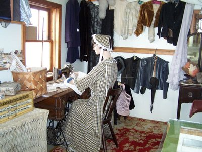 Day 14 - Rugby SD Museum, Dress Shop Interior