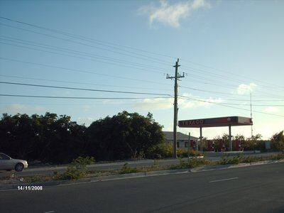 Gas Station on Leeward Highway