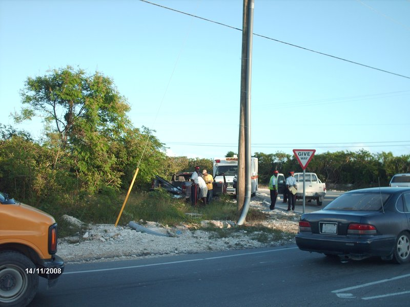 More of the Accident in Providenciales