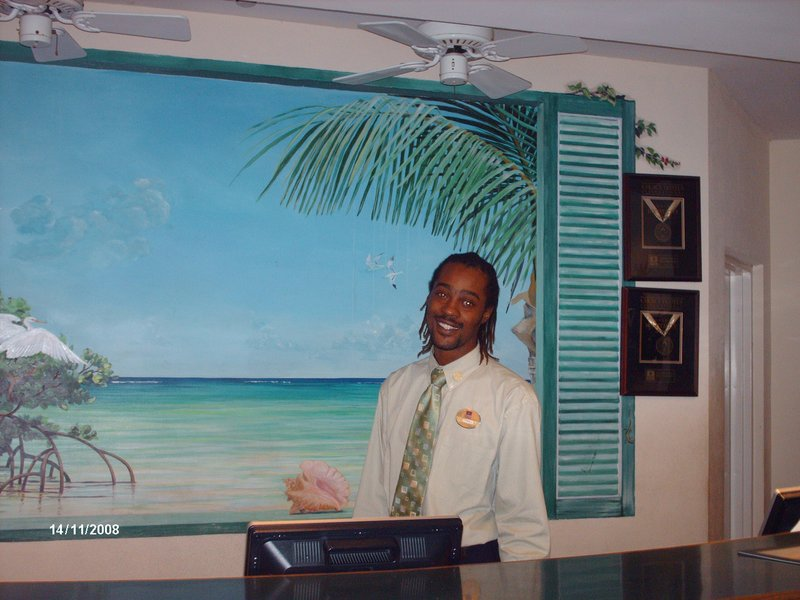 Tyrell, Front Desk Clerk at Comfort Suites