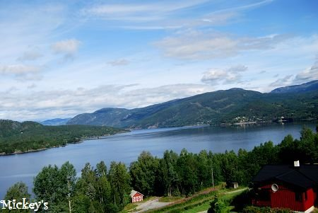 挪威旅游风景区