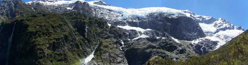 Rob Roy Glacier - Panoramic