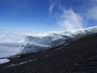 Ice on the top of Kili