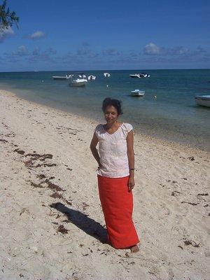 Mounita, Flic En Flac beach