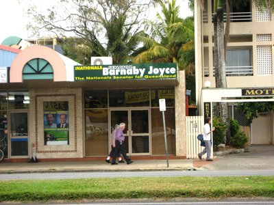 Barnaby&#39;s office 