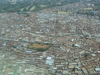 Kibera from the sky