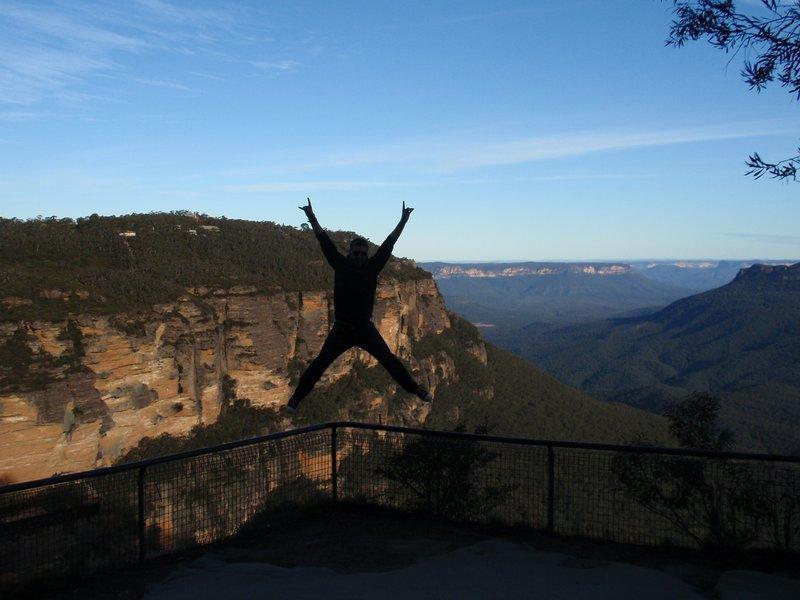 Ian jumping dardevil