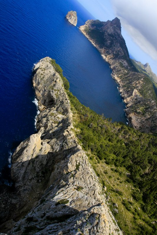 Mallorcan cliffs