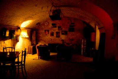 Inside another Ruin Bar!