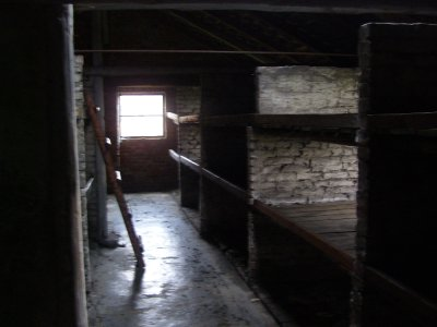 Inside the Prison Barracks, Birkenau