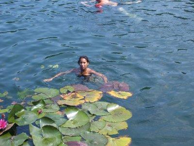 Lorna in the lake, Heviz