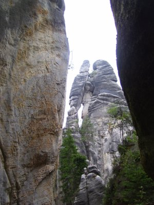 More rock formations, Czech Rep