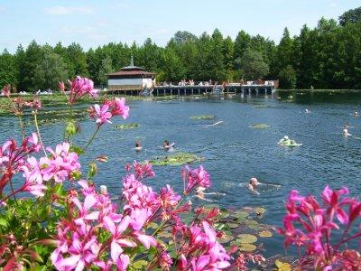 Thermal spa lake, Heviz, Hungary