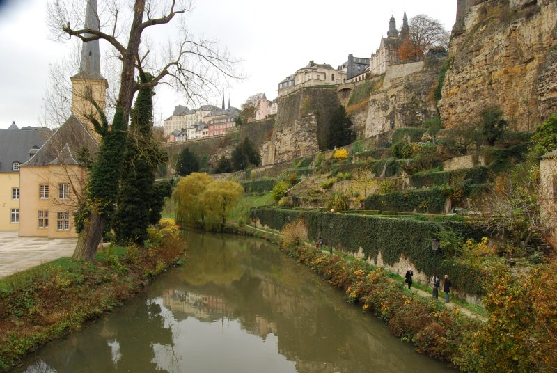 Luxembourg by river