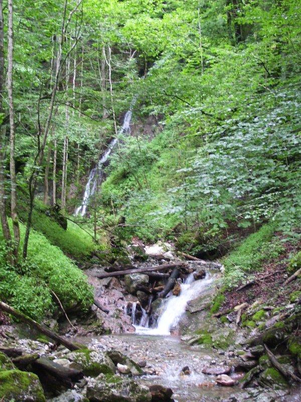 waterfall on the walk, Kalkapen Austria